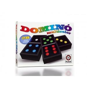 Juego De Mesa Domino Multicolor