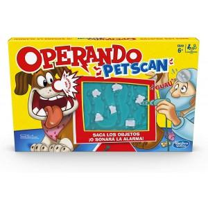 Juego De Mesa Operando Pet Scan Mascotas Zumbido Xray Hasbro