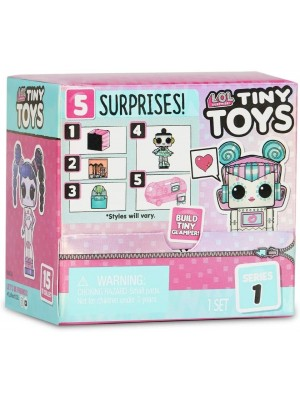 Lol Surprise Tiny Toys Muñeca Coleccionable Original