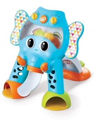 Andador Caminador Gimnasio Musical 3 En 1 Elefante Infantino