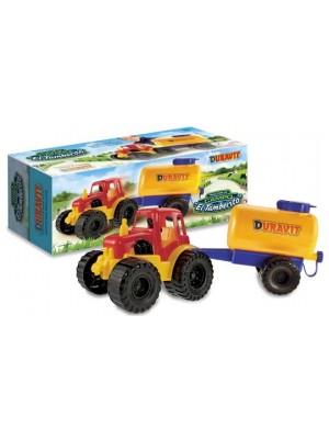 Juguete Tractor Tambero Grande Duravit 219