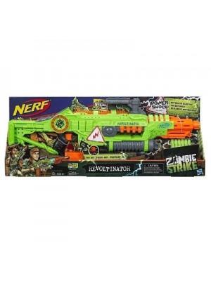 Pistola Nerf Zombie Strike Revoltination Hasbro E3061