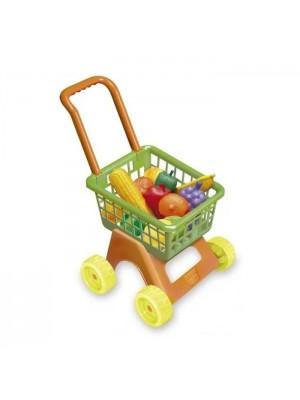 Carrito De Supermercado Compras Con Frutas