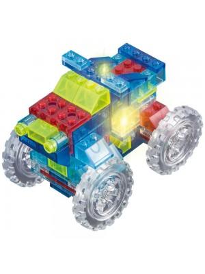 Lego Crystaland Bloques Luminosos Ladrillos Con Luz Led Rally 4X4 6 En 1