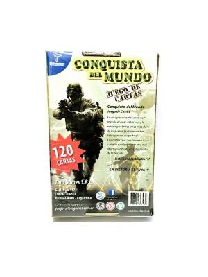 Conquista Del Mundo Juego De Cartas Toto Games