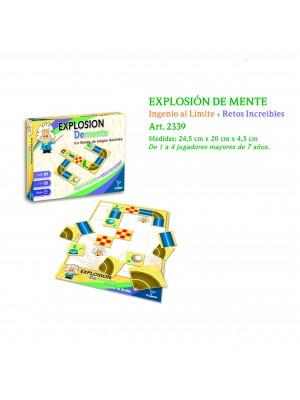 Explosión De Mente Ingenio Al Limite + Retos Increíbles Juego De Mesa Toto Games