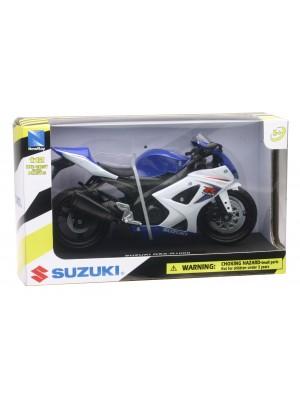 Moto Suzuki GSX-R1000 Pista Escala 1:12 New Ray Colección