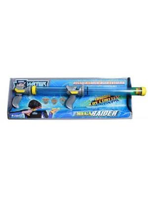 Pistola De Agua Lanzador Super 85 Cm Power Max Water Mega Raider Chikitos 127