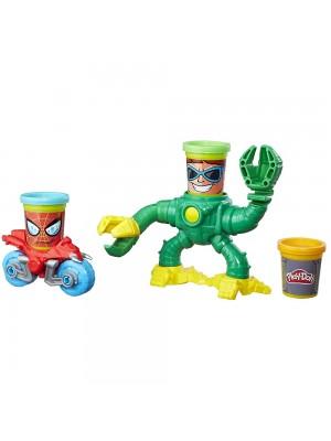 Play-Doh MVL Spiderman vs Doc Ock Set B9364 Hasbro